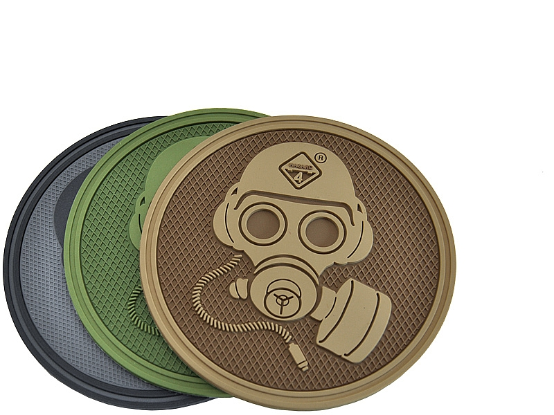 Special Forces Gas Mask™ 3D Polymer/Velcro Morale Patch
