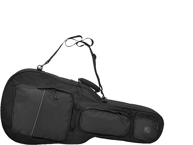 Covert Guitar Style Padded Rifle Case