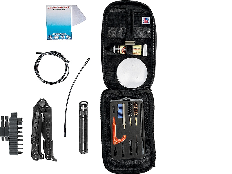 Gun Cleaning Kit™ (9mm/.45 Pistol Kit)