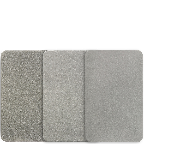 Credit Card Size Sharpening Stone - 3 Piece Set